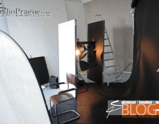 "Behind The Scenes ""Nude Glamour Lighting"" - 50s Chic with Stana"
