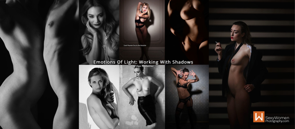 9 - Photography Lighting - Emotions Of Light - Working With Shadows - Light Modifiers