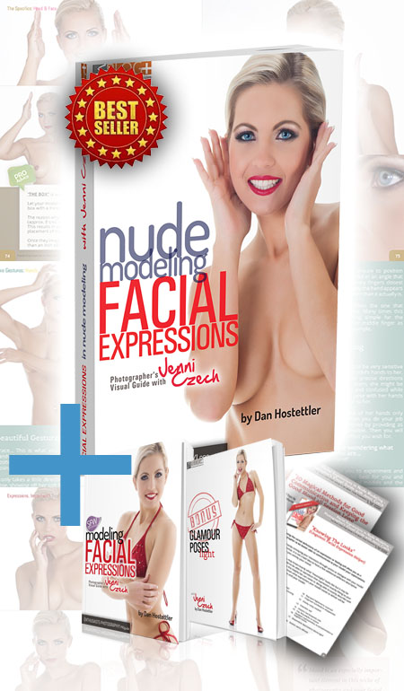 GET Glamour Posing Guide - Facial Expression for Nude Modeling with Jenni Czech