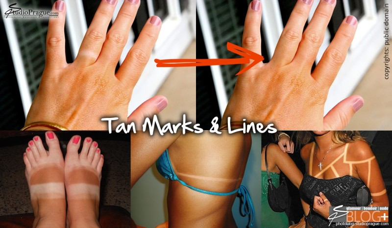 Tan Marks & Lines - Photoshop retouching - The Nude Body - Your Next Photo Shoot