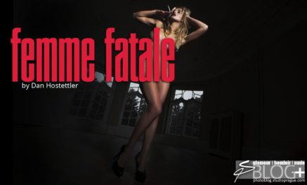 Femme Fatale: Dramatic Lighting in Nude Photography