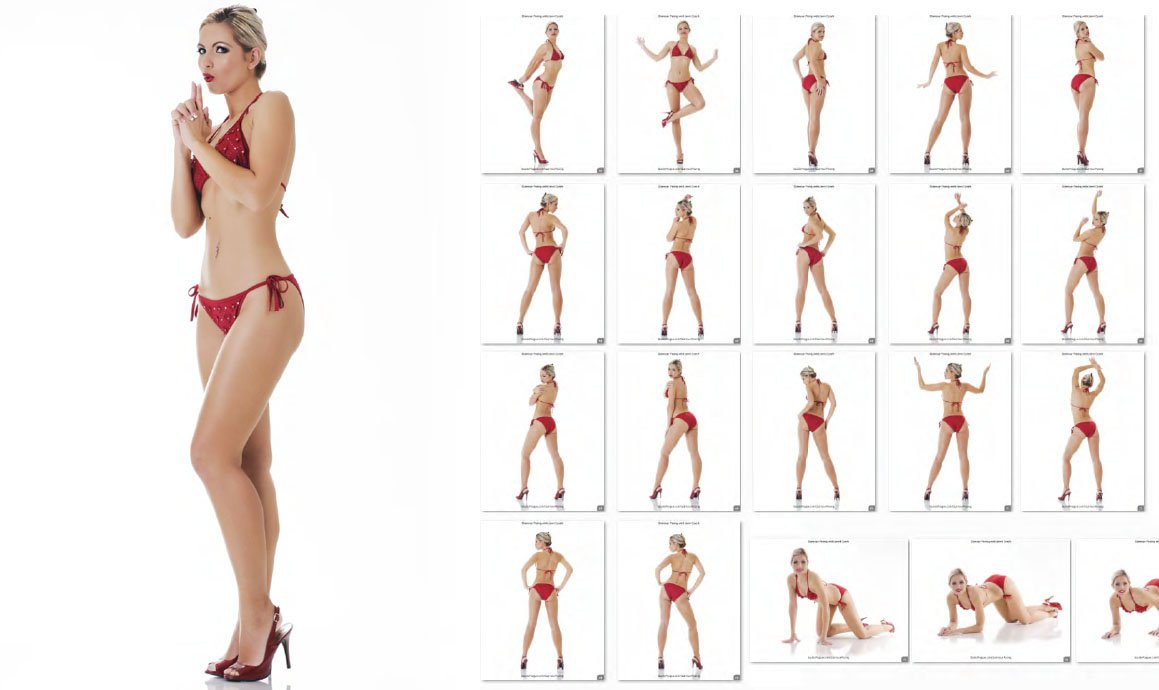 Glamour Posing - Quick Reference Library with Jenni Czech