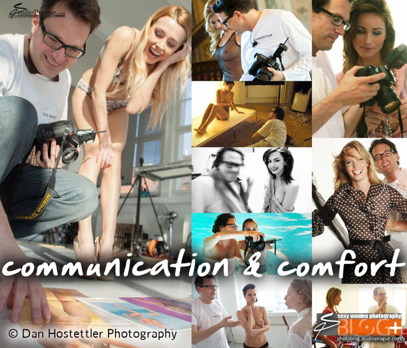 Building a Rapport, Communication & Comfort with the Model - Variety of Poses and Types