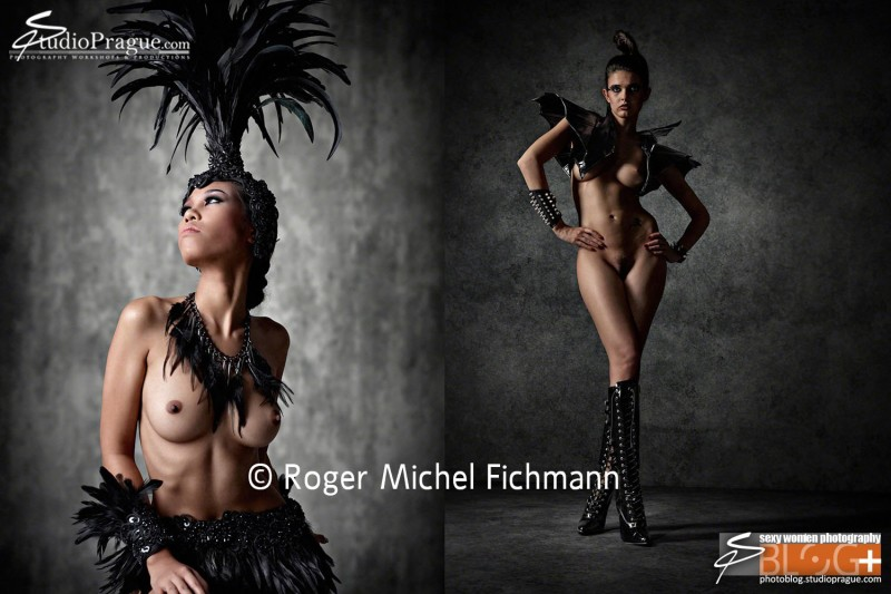 Fantasy Nudes Photography by Roger Michel Fichmann