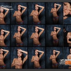 'Fast Glam' - Contact Sheets - Glamour Photography - 003