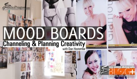 Organizing Creativity: Mood Boards for Photography Productions