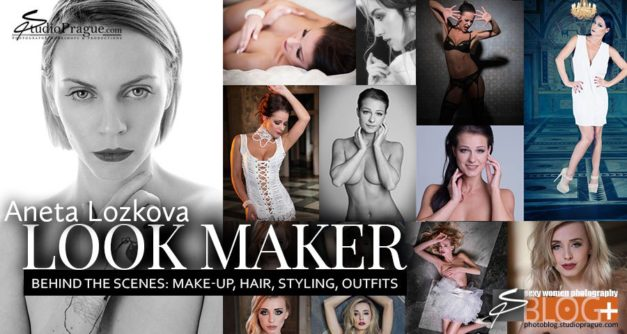 The Look Maker – Aneta Lozkova, MUHA: Portrait