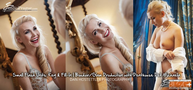 Boudoir Photography - Penthouse Pet Michaela - by Dan Hostettler