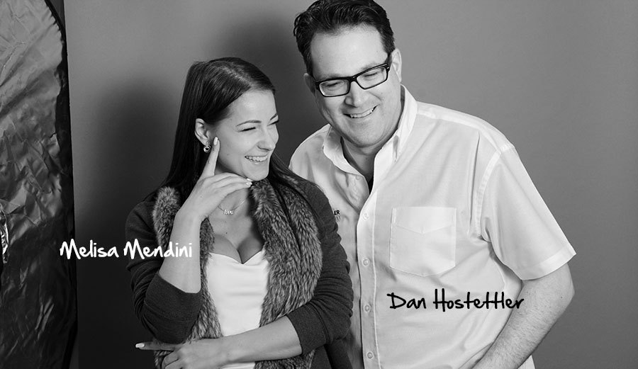 Photo Model Melisa Mendini & Dan Hostettler Photographer