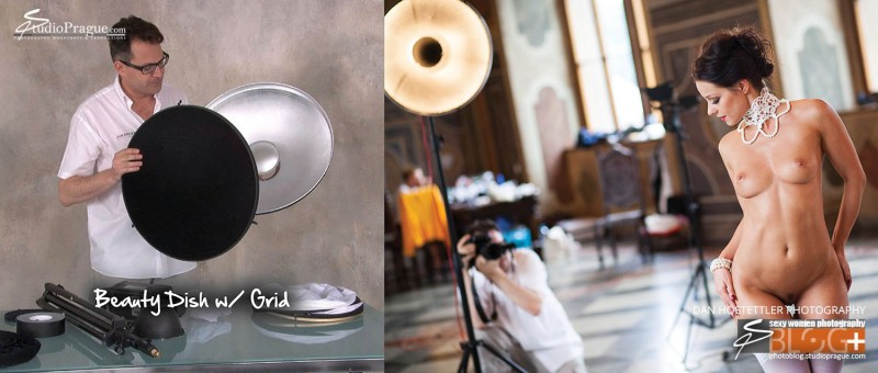 Beauty Dish - Essential Studio Lighting Kit - Little Kit of Light Gear & Components