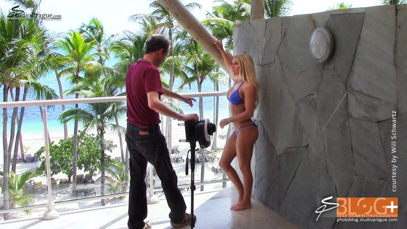 Behind the Scenes with Dana Manner - 1 - Bikini Model Champion Photo Shooting - Success Story