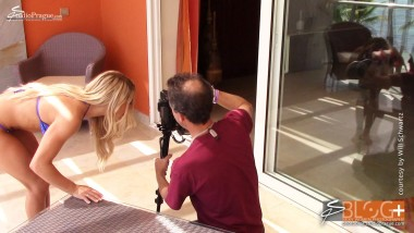 Behind the Scenes with Dana Manner - 2 - Bikini Model Champion Photo Shooting - Success Story
