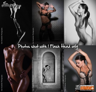 Nude Photography with 1 Flash Head - Essential Studio Lighting Kit - Little Kit of Light Gear & Components