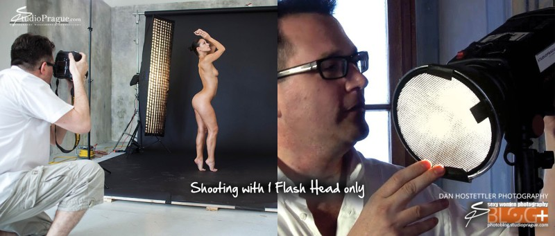 Shooting with one flash head - Essential Studio Lighting Kit - Little Kit of Light Gear & Components