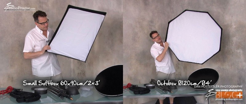 Softbox & Octobox - Essential Studio Lighting Kit - Little Kit of Light Gear & Components