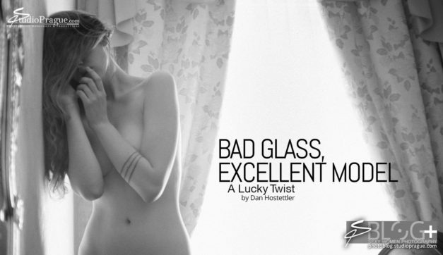 A Lucky Twist: Bad Glass, Excellent Model