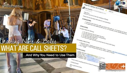 What Are Call Sheets & Why You Need to Use Them?
