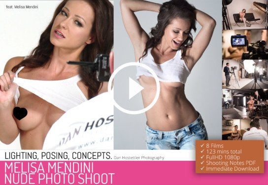 LIVE Replay: 'The Melisa Mendini Live Nude Photo Shoot'