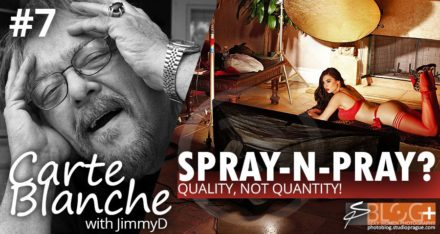 Spray-n-Pray? Quality before Quantity!