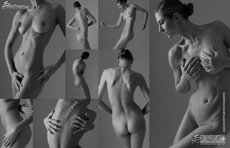Art Nude Imagery Stana - Etude 1 - Classic Nudes by Dan Hostettler - 2