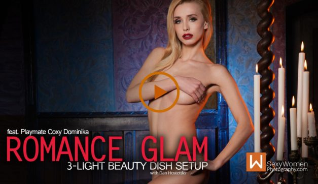 "Photo Shoot Concept ""Romance Glam"" – feat. Playmate Coxy Dominika"