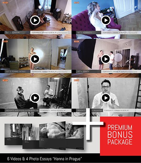 Awesome PREMIUM BONUS Material - Mastering B&W Nudes Today