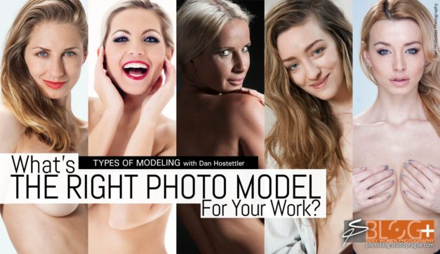 What's The Right Photo Model? – Types of Modeling