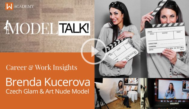 Pep Talk with Brenda Kucerova, Pro Fashion, Glam & Art Nude Model