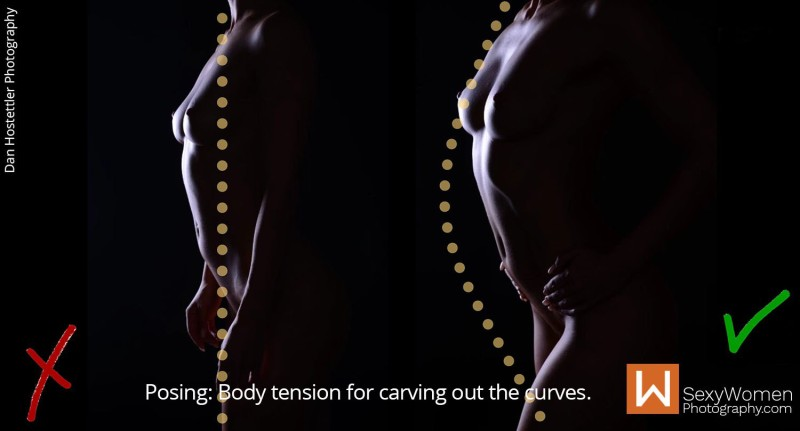 Body Tension & Angle - Bodyscapes - Bodyscape Art Nudes with Melisa Mendini