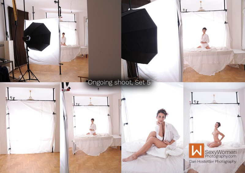 Behind The Scenes - Brenda Kucerova - What Beautiful you Are - Nude Photo Series