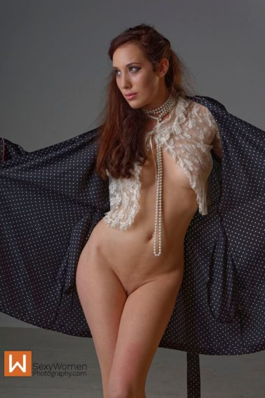 Willa Demure Look - Fashion Nude Photography - Part 1