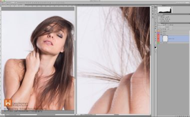 Figure_1b_Different_Zoom - Stray Hair - Retouching Quick Wins