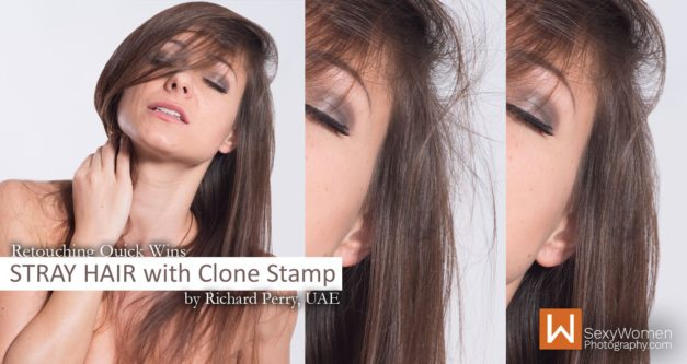 Stray Hair – Retouching Quick Wins
