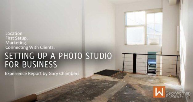 Setting Up A Photo Studio (For Doing Actual Business)