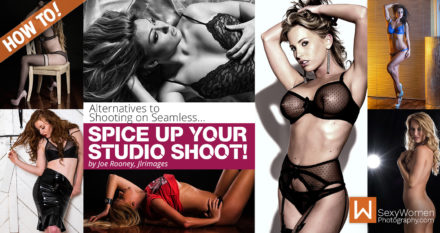 Spice Up Your Studio Shoot: Alternatives to Shooting on Seamless