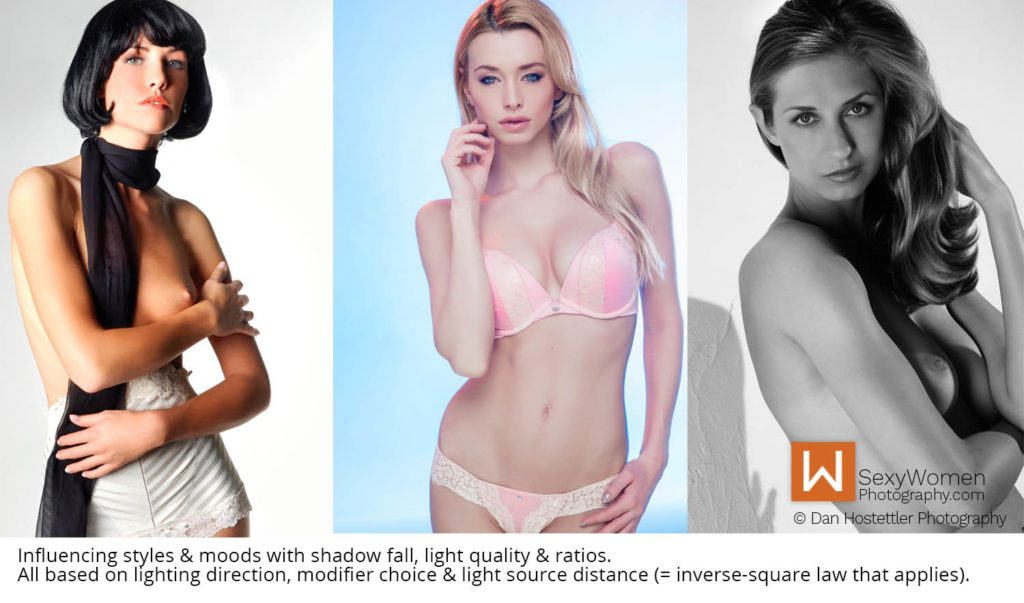 Inverse-Square Law & Light Ratios - Light Quality, Mood & Message