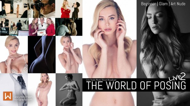 LIVE Replay: 'The World Of Posing' – Starting Out, Glamour & Art Nude
