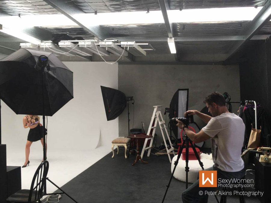 Behind The Scenes 1 - Top Tips For Pin-Up Photo Shoot - Peter AIkins