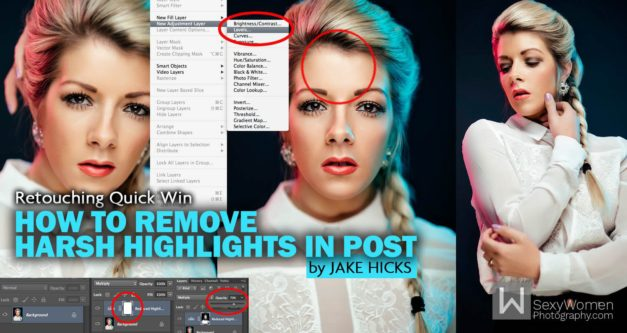 Quickly and Easily Remove Harsh Highlights in Photoshop