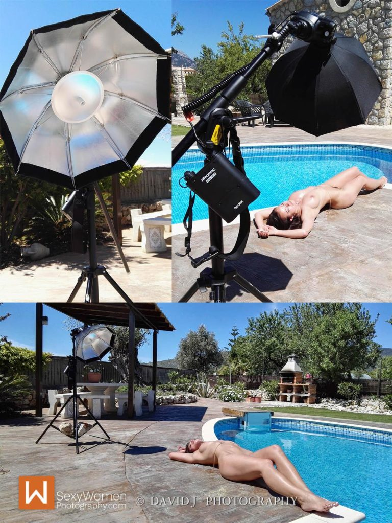1-Light Setup Outdoor - Speedlight & Melisa Mendini
