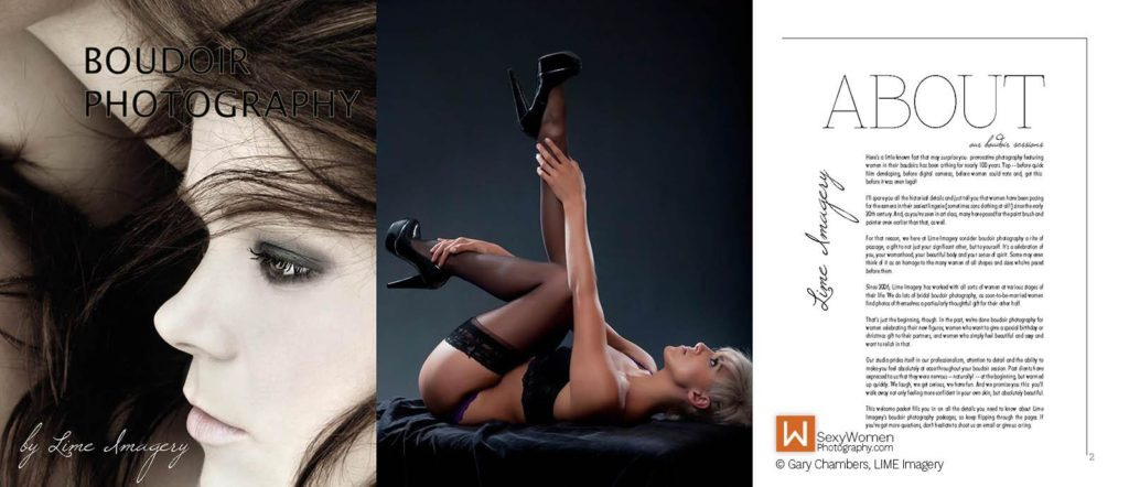 Glamour+Boudoir Photography - Running The Business - Lime Imagery