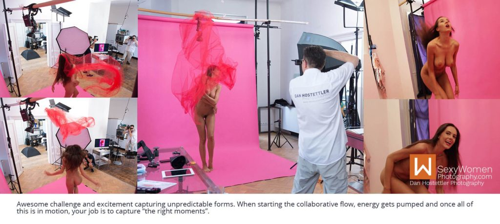 Learn Model Posing - Red Breeze - Artistic Glam - Low Budget Creative Nudes
