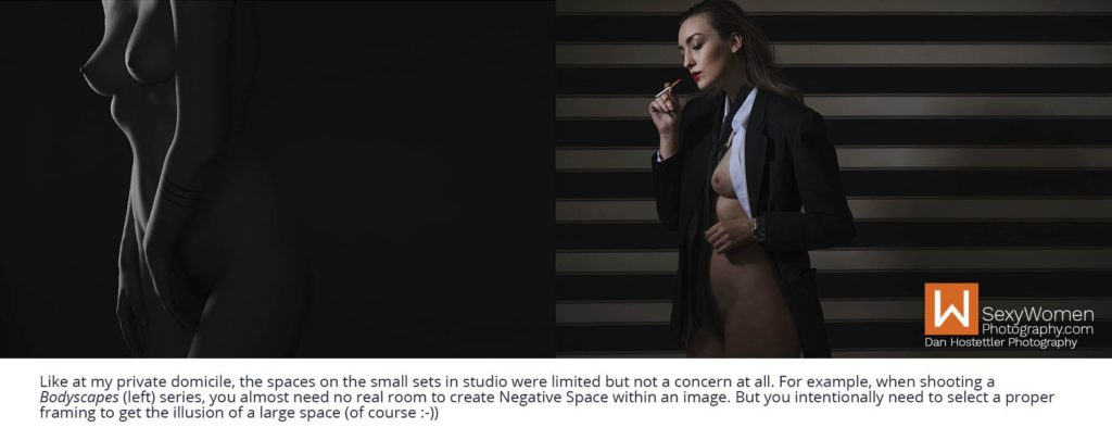 Negative Space - Creative Nudes - Speedlight Adventure