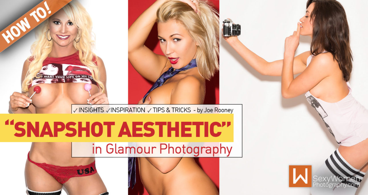 "The ""Snapshot Aesthetic"" in Glamour Photography"
