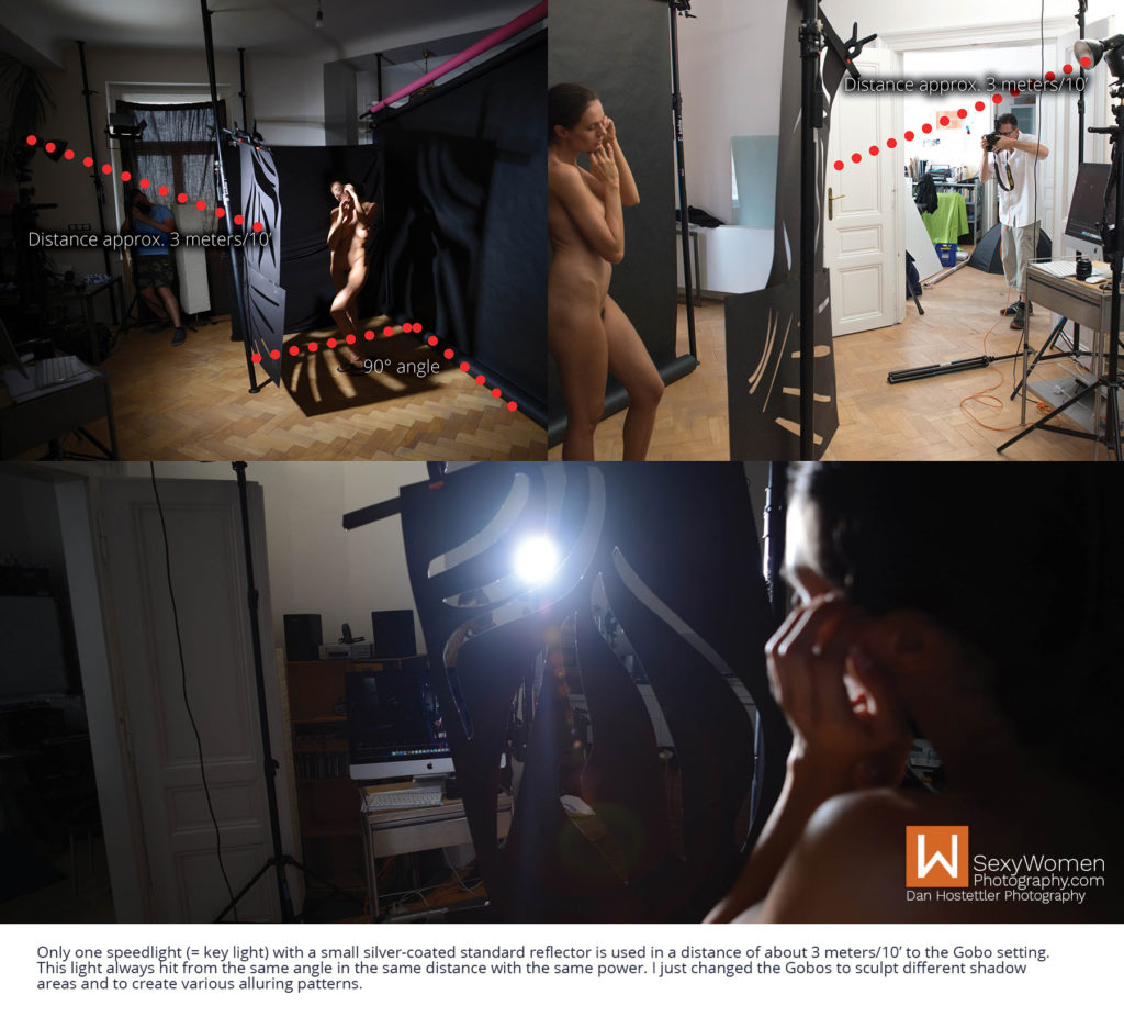 Endless Possibilities – Lighting Setup Variants - Artistic Nudes - Shadow Play - Low Budget Creative Nudes
