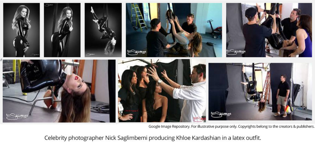 Khloe Kardashian by Nick Saglimbemi - How To Light & Shoot - Google Image Repository
