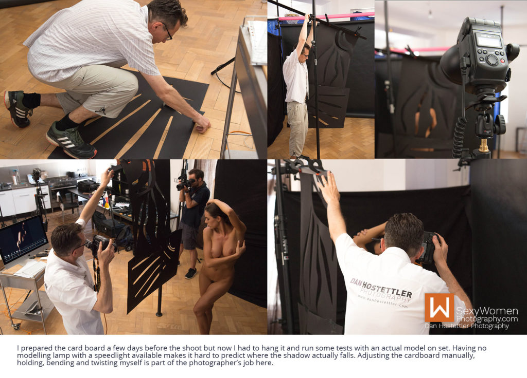 Dan Is Shooting Segment 1 – Shadow Play with Card Board - Artistic Nudes - Shadow Play - Low Budget Creative Nudes