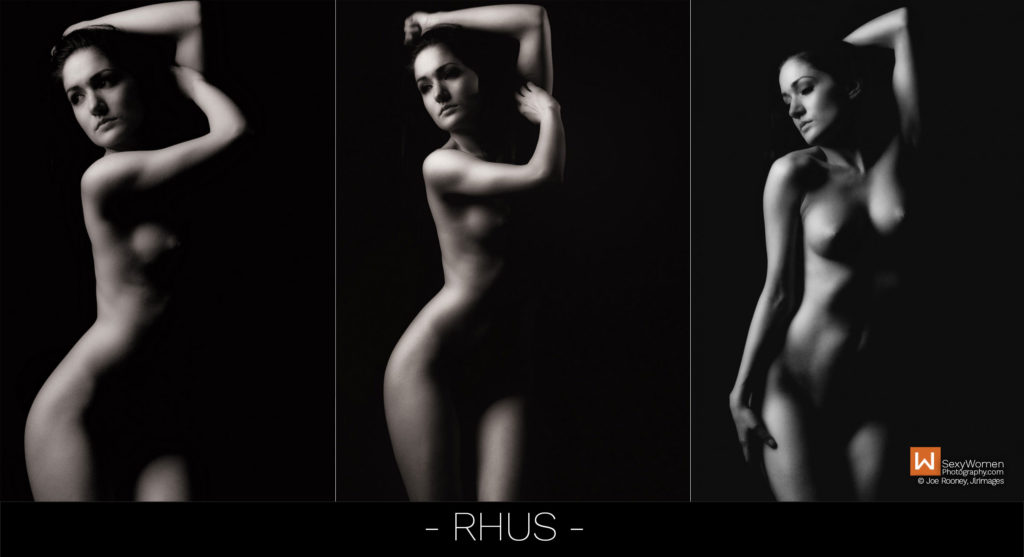 RHUS - Photo Project Clothed With Darkness – concept lighting and implementation