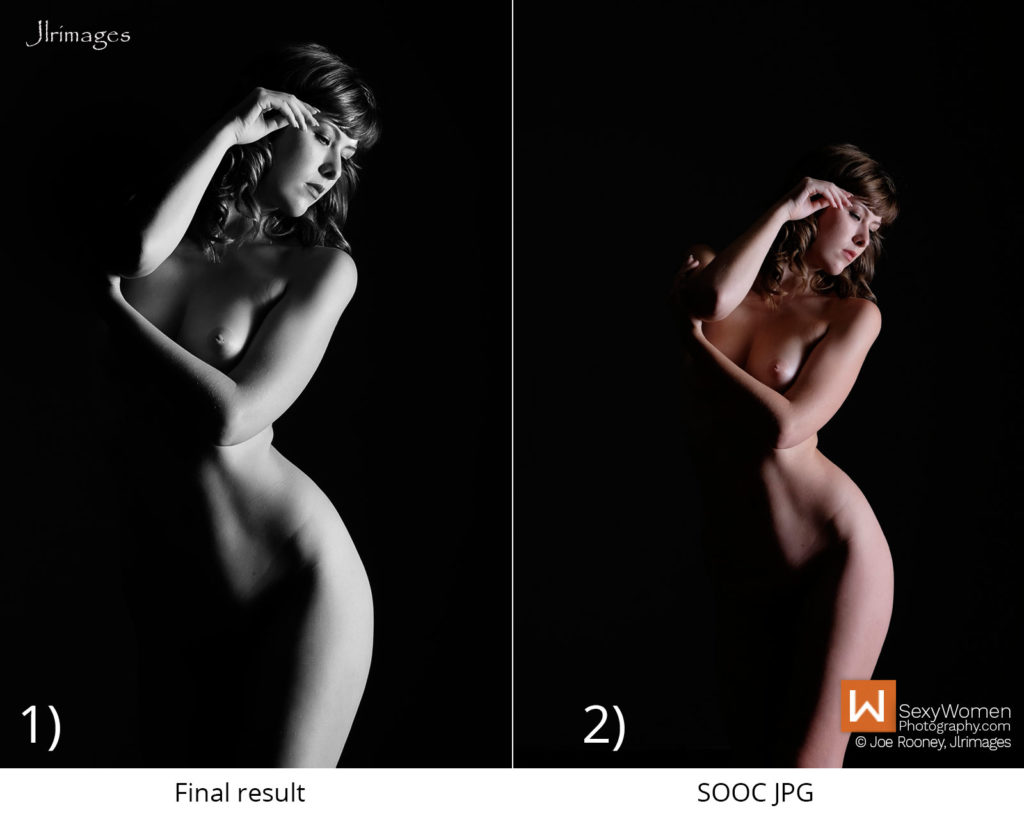 Post Processing - Photo Project Clothed With Darkness – concept lighting and implementation