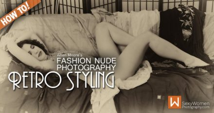 Fashion Nude Styling and Photography Goes Retro!
